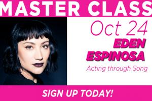 Eden Espinosa Masterclass