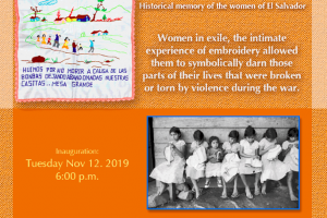 Embroiderers of Memory: Historical memory of women of El Salvador