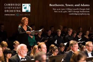 Cambridge Symphony: Beethoven, Tower, and Adams