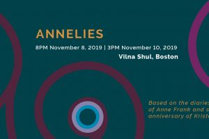 Boston Choral Event presents Annelies