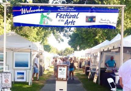 49th Festival of the Arts, Chase Park, Chatham, MA...