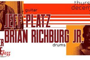 Boiler House Jazz Concert: Jeff Platz & Brian Richburg Jr. Duo