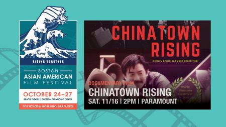 Chinatown Rising BAAFF Post-Festival Screening