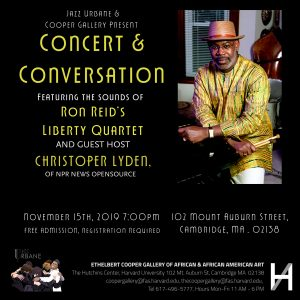 Concert & Conversation: Christopher Lydon, ft....