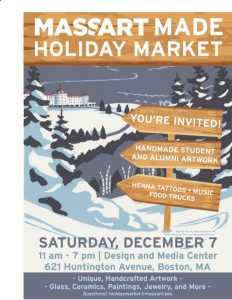 MassArt Made Holiday Market