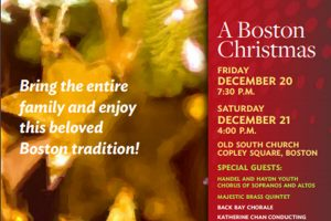 "Back Bay Chorale's ""A Boston Christmas"""