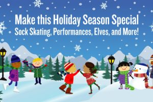 Wheelock Family Theatre's Live Musical Curious George, Sock Skating, Elves, and More!