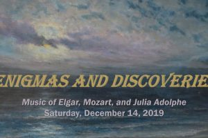 Brookline Symphony Orchestra: Enigmas and Discoveries