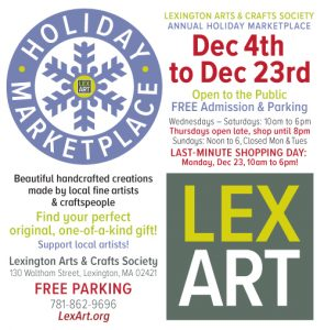 LEXART Annual Holiday Marketplace 2019