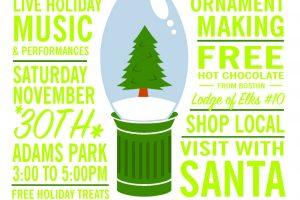 Roslindale Tree Lighting Saturday, November 30th