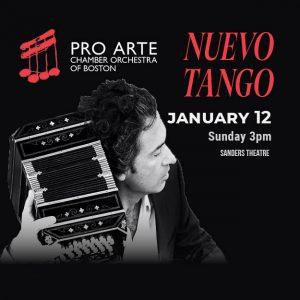Pro Arte presents NUEVO TANGO