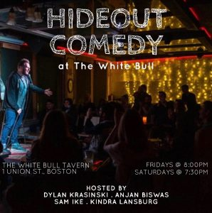 Hideout Comedy at The White Bull Tavern! 21+