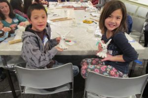 Fun, hands-on sculpture workshop for kids 6-12.