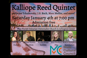 Kalliope Reed Quintet performs free holiday concert in Arlington!