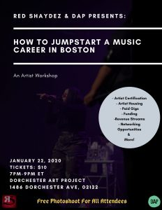 Red Shaydez & DAP Presents: How To Jumpstart A...