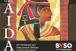 BYSO presents Verdi's AIDA (One-Time Performance!)