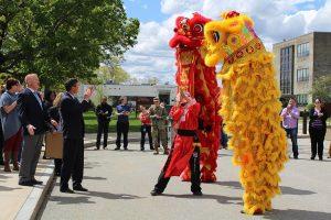 Lion Dance Show