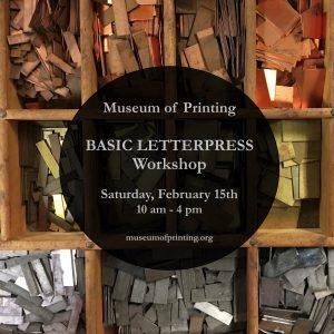 Basic Letterpress Workshop