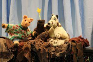 Mathilda's Bath, a Puppet Show