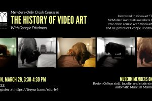 Members-Only Crash Course in the History of Video Art with Georgie Friedman