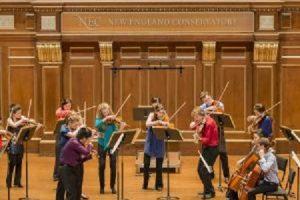 NEC Chamber Orchestra: Schreker, Haydn, & Honneger