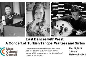 East Dances with West: A Concert of Turkish Tangos, Waltzes and Sirtos