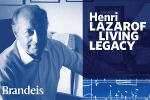 Henri Lazarof Chamber Concert