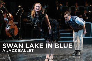 Swan Lake in Blue