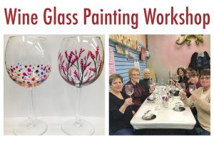 Wine Glass Painting Workshop