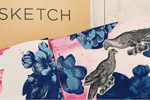 Develop Your Sketchbook Demo + Workshop: Ink and Collage