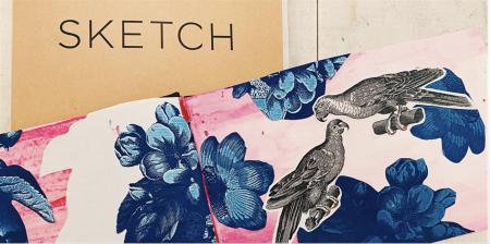 Develop Your Sketchbook Demo + Workshop: Ink and Collage