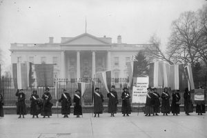 Images in the U.S. Women's Suffrage Movement CANCELLED