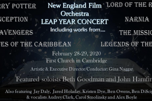 New England Film Orchestra Leap Year Concert