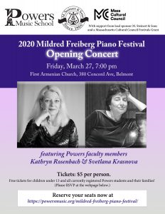 Mildred Freiberg Piano Festival Opening Concert wi...