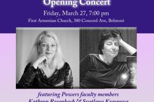 Mildred Freiberg Piano Festival Opening Concert with Kathryn Rosenbach & Svetlana Krasnova