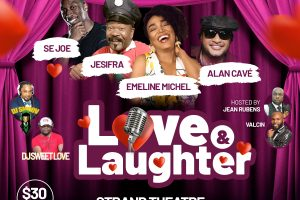 Love & Laughter featuring Emeline • Jesifra • Alan Cave • Se Joe