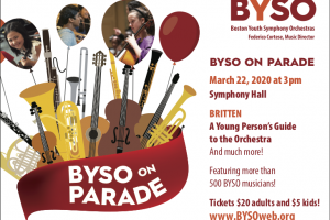 BYSO On Parade