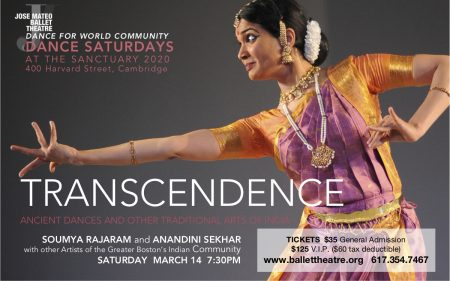 *CANCELED* Transcendence, Ancient Dances of India