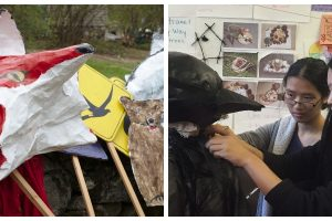 Earth Float, Parade Making, and Puppet Refurbishing Workshops at The Umbrella (All Ages!)