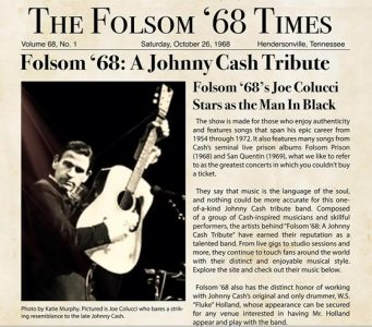 Folsom '68: A Johnny Cash Tribute