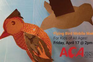 Online Workshop: Flying Bird Mobiles for Kids