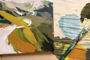 Abstract Landscape Painting: Online Workshop