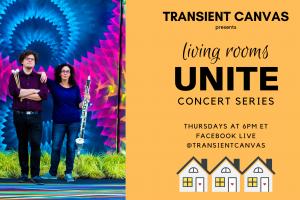 Transient Canvas: Living Rooms Unite #3 [LIVESTREAM]