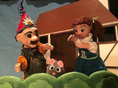 Puppet Show and Tell: CactusHead Puppets