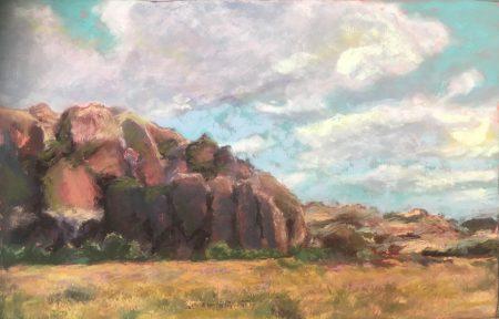 Pastel Landscape (Online Class)