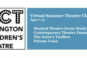 Virtual Theatre Classes for 7-12 y/os at ACT!!