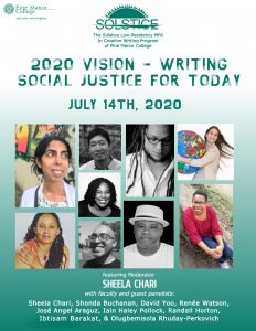 Online Panel: 2020 Vision – Writing Social Justice for Today