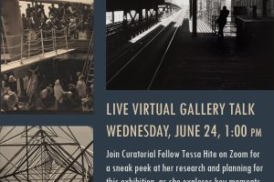 Live Virtual Gallery Talk: An Incomplete History of Photography: 1860s to 1960s
