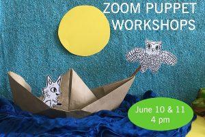 Arlington Fox Fest 2020 Online Family Workshops: Fox and Owl