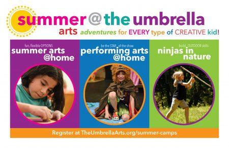The Umbrella Summer @ Home Creative Arts